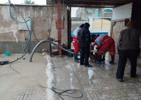 انجام ۱۴ عملیات امداد و نجات آبگرفتگی در استان